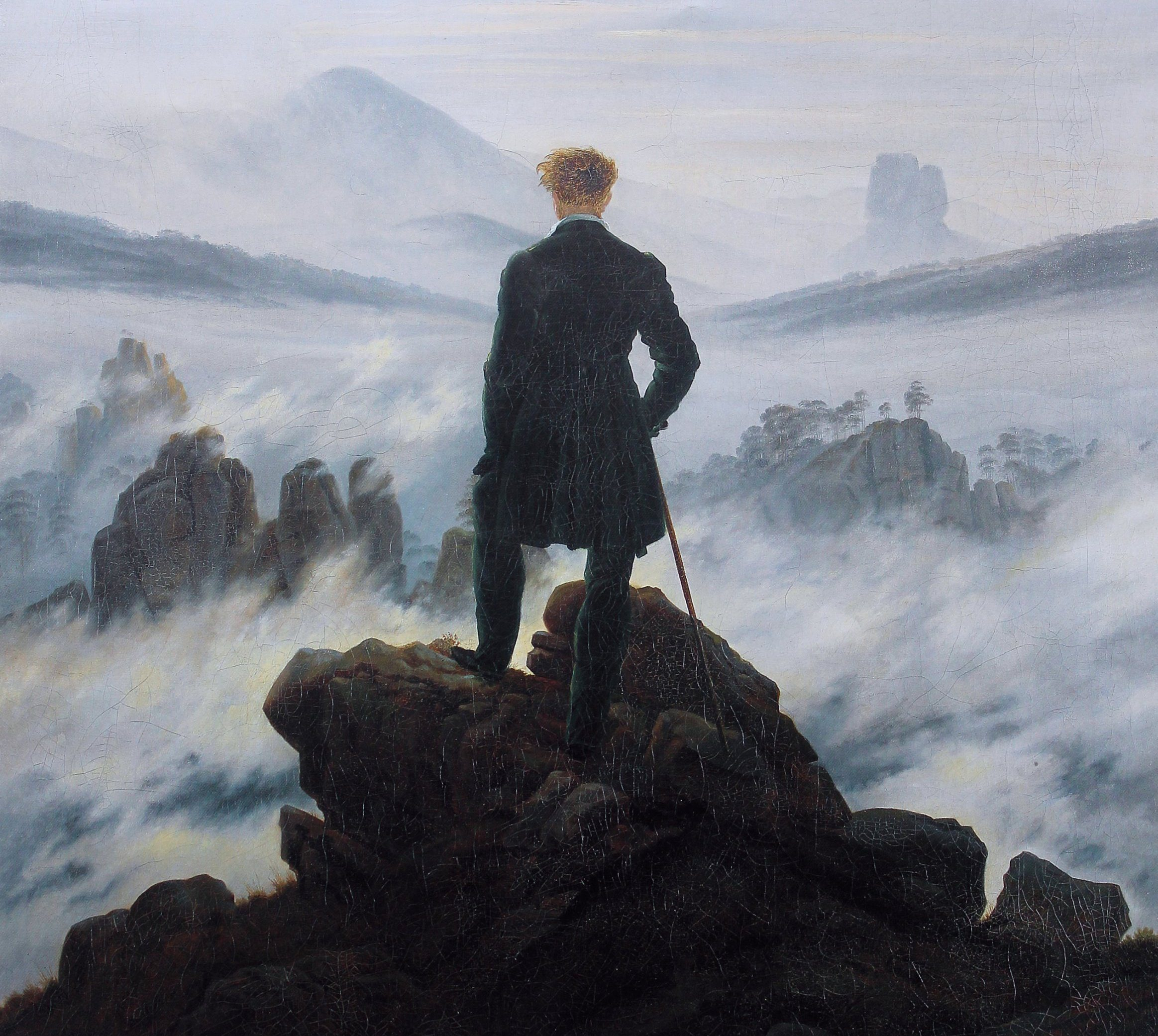 Мандрівник над морем туману, Каспар Давид Фрідріх